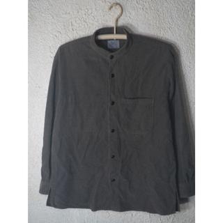 チャオパニック(Ciaopanic)の3577 チャオパニック 日本製 パル 長袖 コーデュロイ ノーカラー シャツ(シャツ)