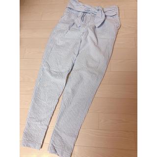 オゾック(OZOC)のOZOC ストライプ サルエルパンツ♡(サルエルパンツ)