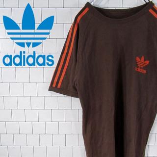 アディダス(adidas)の【激レア】アディダスオリジナルス  トレフォイルロゴ スリーラインTシャツ 90(Tシャツ/カットソー(半袖/袖なし))