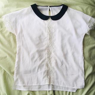 ディーホリック(dholic)のdholic 半袖カットソー Mサイズ(カットソー(半袖/袖なし))