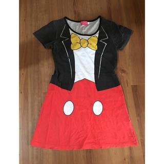 ディズニー(Disney)のミッキー ロングTシャツ(Tシャツ(長袖/七分))