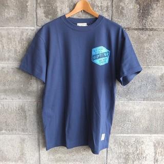 セブンティーフォー(SEVENTY FOUR)の19ss.最新作●セブンティーフォー ロゴ Tシャツ L ネイビー 新品(Tシャツ/カットソー(半袖/袖なし))