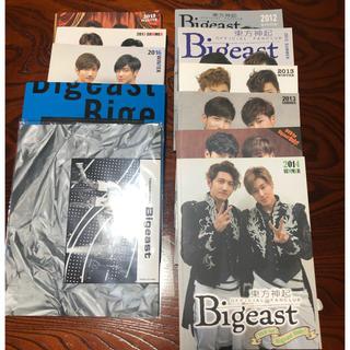 トウホウシンキ(東方神起)の東方神起 Bigeast 会報 DVD(アイドルグッズ)