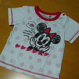ディズニー(Disney)のミニーちゃん Tシャツ(Tシャツ/カットソー)