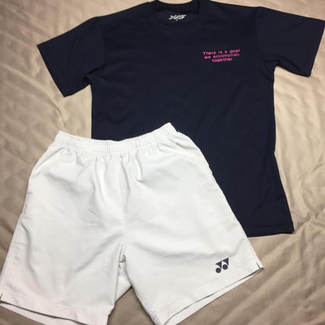 YONEX(ヨネックス)のテニスウェアレディースMサイズ上下セット スポーツ/アウトドアのテニス(ウェア)の商品写真