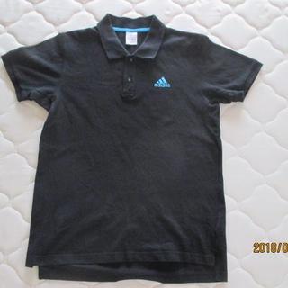 アディダス(adidas)のアディダスポロシャツ ブラックL(ポロシャツ)