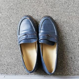 カスタネ(Kastane)のKastane ローファー紺(ローファー/革靴)