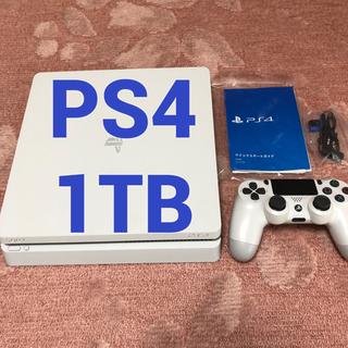 PlayStation4 - Play Station 4 グレイシャー・ホワイト 1TB CUH-2000B