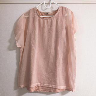 シューラルー(SHOO・LA・RUE)の半袖Tシャツ(Tシャツ(半袖/袖なし))