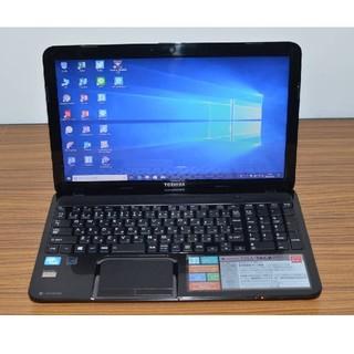 トウシバ(東芝)の最新Win10+office 東芝 T552/36GB 新品SSD256/4GB(ノートPC)