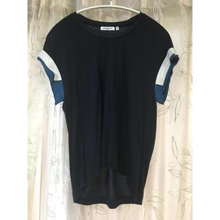 ドゥロワー(Drawer)の美品✨The SECRETCLOSET テンセルリフトTシャツ  (Tシャツ(半袖/袖なし))