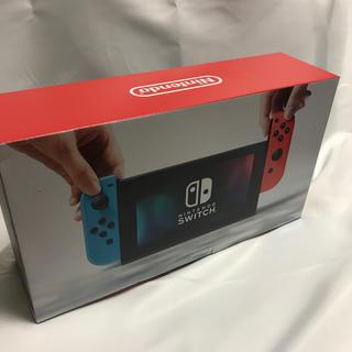 ニンテンドースイッチ(Nintendo Switch)の新品未開封 Nintendo Switch  本体 ネオン 任天堂スイッチ(家庭用ゲーム本体)