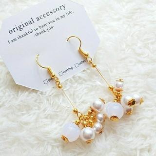ザラ(ZARA)の▷▶ na7 handmade accessory gallery(ピアス)