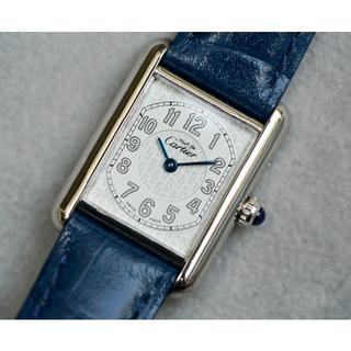 huge discount c55a0 827d1 美品 カルティエ マスト タンク シルバー アラビア SM Cartier