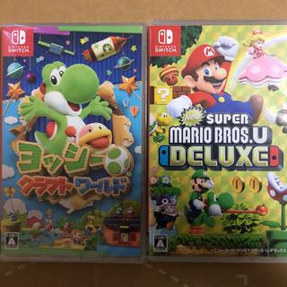 ニンテンドースイッチ(Nintendo Switch)のヨッシークラフトワールド、マリオデラックス(家庭用ゲームソフト)