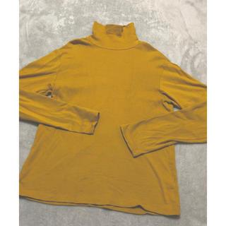 ジーユー(GU)のタートルネックトップス(Tシャツ(長袖/七分))