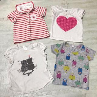 4effe2572f4db エイチアンドエム(H M)の女の子 半袖 80cm まとめ売り(Tシャツ)