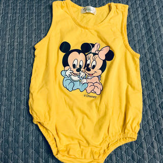 ディズニー(Disney)のベビー服 サイズ90(ロンパース)