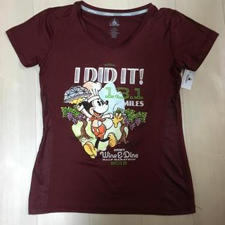 ディズニー(Disney)のdisney wine and dine マラソン VネックTシャツ(Tシャツ(半袖/袖なし))