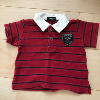 コムサイズム(COMME CA ISM)のused コムサイズム ポロシャツ 80(シャツ/カットソー)
