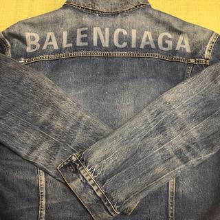 バレンシアガ(Balenciaga)のミッキー様専用 BALENCIAGAのロゴ デニムジャケット(Gジャン/デニムジャケット)