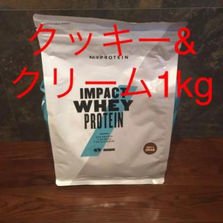 マイプロテイン(MYPROTEIN)の最安値!マイプロテイン  クッキー&クリーム 1kg (プロテイン)