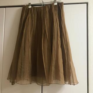 ダブルスタンダードクロージング(DOUBLE STANDARD CLOTHING)のチュールスカート(ひざ丈スカート)
