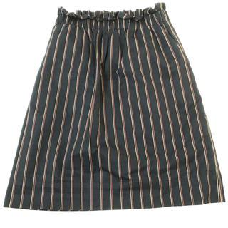 ラトータリテ(La TOTALITE)のスカート 紺(ひざ丈スカート)