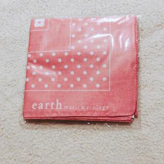 アースミュージックアンドエコロジー(earth music & ecology)のearth music&ecology バンダナ 新品(バンダナ/スカーフ)