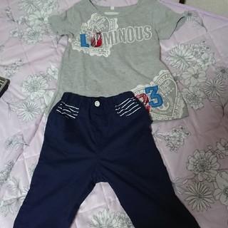 シマムラ(しまむら)のセット売り  Tシャツ パンツ(Tシャツ/カットソー)