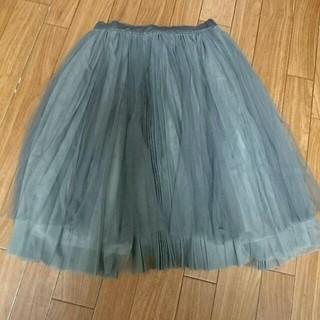 ドゥーズィエムクラス(DEUXIEME CLASSE)のノスタルジア☆チュールスカート(ひざ丈スカート)