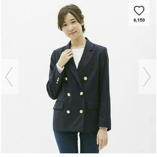 ジーユー(GU)のGU♡ダブルブレストジャケット(テーラードジャケット)
