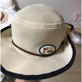 ミキハウス(mikihouse)のミキハウス 夏 帽子 52cm(帽子)