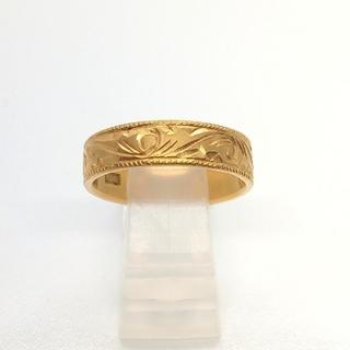K18 デザインリング #11.5(リング(指輪))