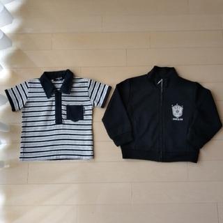 コムサイズム(COMME CA ISM)のコムサイズム  ジャージ  90  半袖 Tシャツ ポロシャツ 80(Tシャツ)