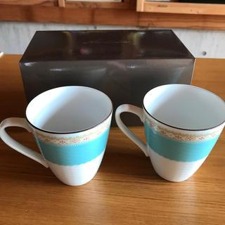 ノリタケ(Noritake)のノリタケ マグカップ ハミングブルー(食器)