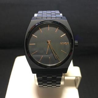 ニクソン(NIXON)のNIXON TIME TELLER ALL BLACK(腕時計(アナログ))