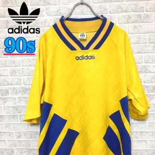 アディダス(adidas)の90s!Adidas アディダス デサント社製 ゲームシャツ Oサイズ(Tシャツ/カットソー(半袖/袖なし))