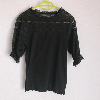 ダブルクローゼット(w closet)のwcloset カットソー ブラウス(シャツ/ブラウス(半袖/袖なし))