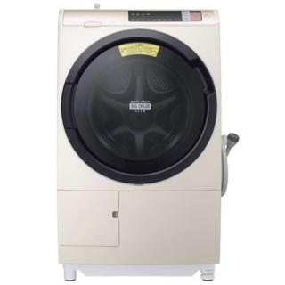 ヒタチ(日立)の日立ヒートリサイクル 風アイロン ビッグドラム スリム BD-SV110AL (洗濯機)