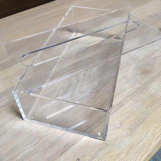 ムジルシリョウヒン(MUJI (無印良品))の無印良品 テッシュケース クリア(ティッシュボックス)