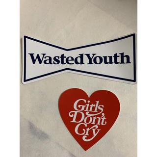 ジーディーシー(GDC)のgirls don't cry wasted youth ステッカー(その他)