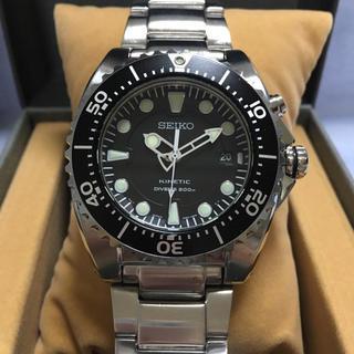 セイコー(SEIKO)の美品 SEIKO DAIVER'S 200M KINETIC(腕時計(アナログ))