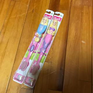 バービー(Barbie)の未使用 Barbie 歯ブラシ(歯ブラシ/デンタルフロス)