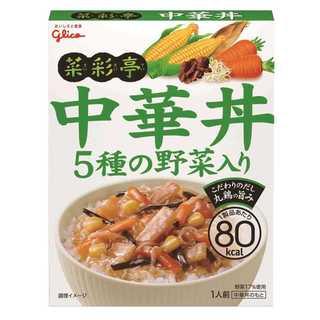 江崎グリコ 菜彩亭 中華丼 140g×10個(その他)