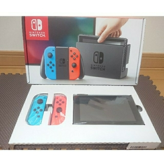 Nintendo Switch - ニンテンドースイッチ 本体 ネオン・ブルー