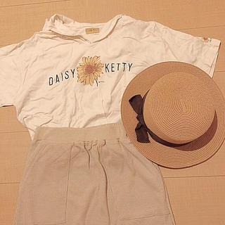 グリモワール(Grimoire)の古着 お花 セーラー Tシャツ(Tシャツ(半袖/袖なし))