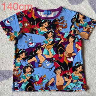 ディズニー(Disney)のアラジン 総柄Tシャツ ディズニーランドで購入(Tシャツ/カットソー)