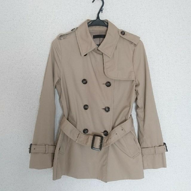 UNIQLO(ユニクロ)の【UNIQLO】ショートトレンチコート レディースのジャケット/アウター(トレンチコート)の商品写真