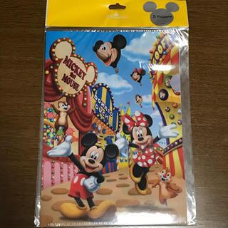 ディズニー(Disney)の香港ディズニーランド クリアファイル3枚セット(クリアファイル)